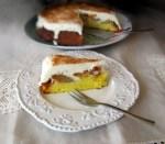 prajitura cu mere caramelizate si branza dulce