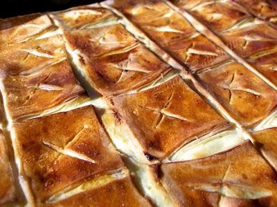 Preparare Placinta cu branza dulce 8