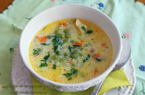 supa de mazare cu galuste 2