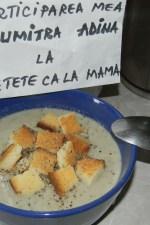 Supa crema de ciuperci by adinagrig