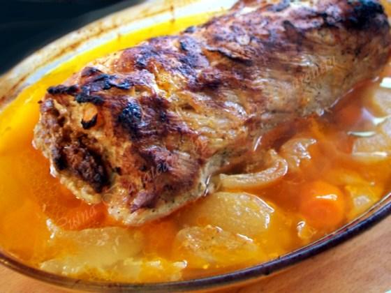 friptura cotlet de porc umplut 9