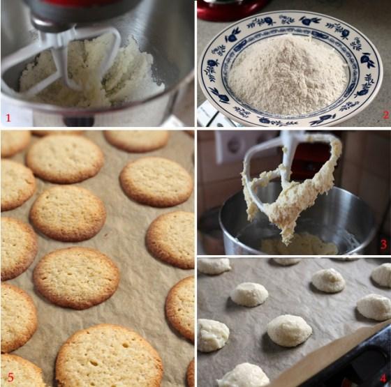preparare biscuiti cocos, reteta fursecuri cocos si portocale