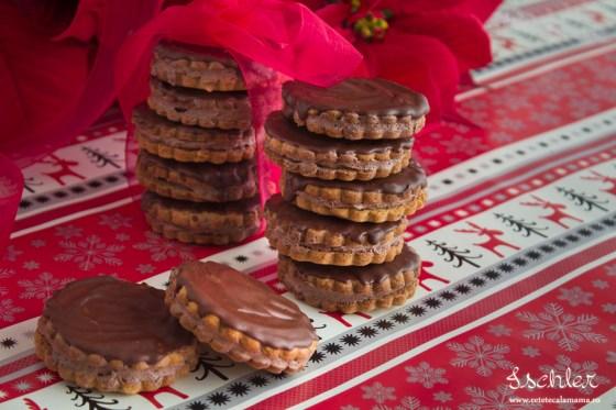 ischler reteta, reteta islere, biscuiti cu ciocolata