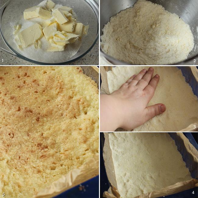 preparare blat prajitura cu nuca si caramel