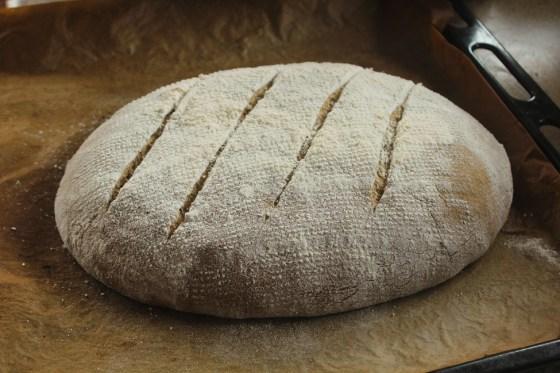 paine de secara in tava