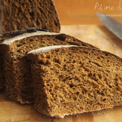 paine de secara sectiune