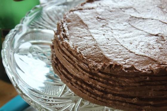 asamblare tort dobos 1
