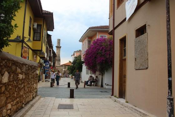 antalya strada in orasul vechi