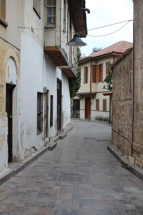 strada orasul vechi Antalya