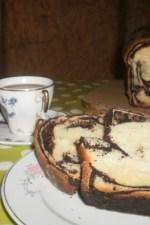 Cozonac cu ciocolata, marmorat by Miha Blonda