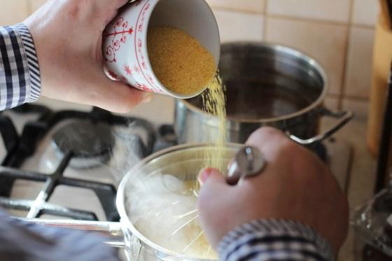 preparare mamaliga