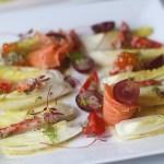 Salata de andive cu somon