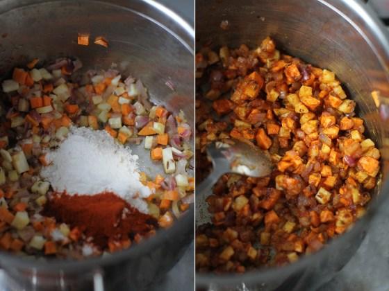 supa de chimen preparare 4