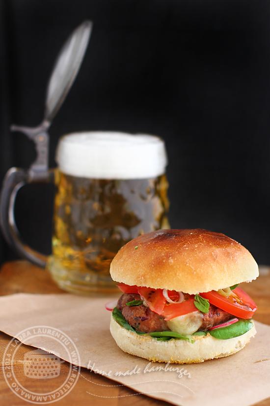 hamburger de casa reteta