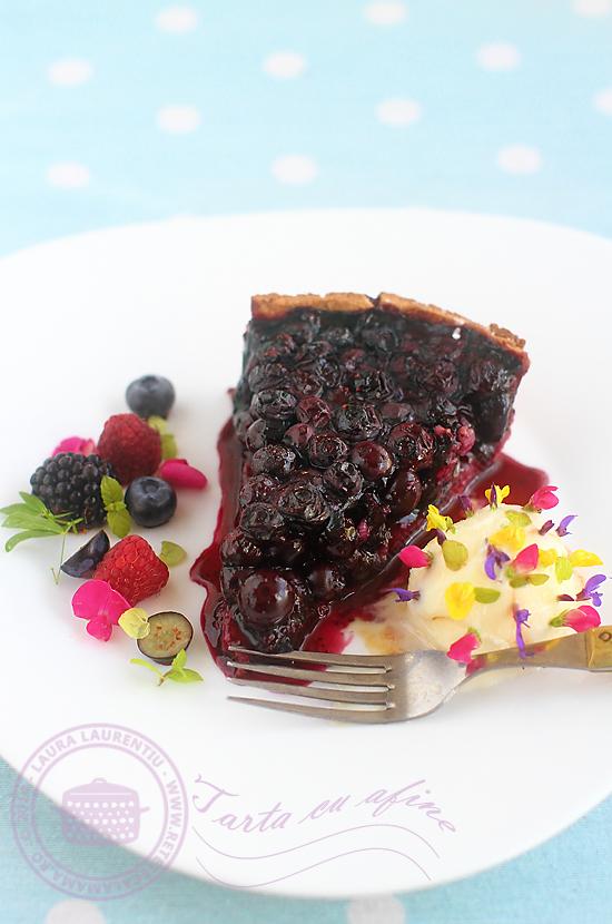 tarta, placinta cu afine-1