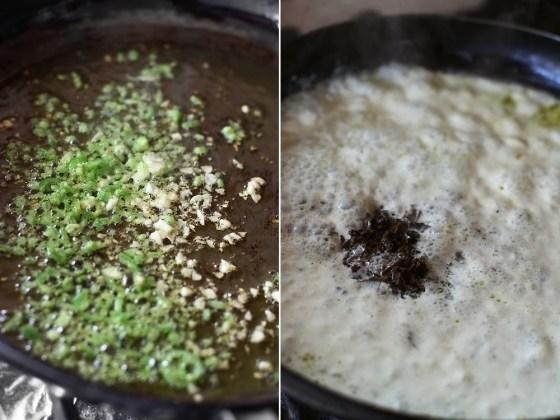 preparare paste cu trufe 1
