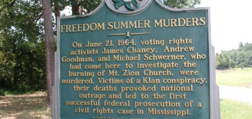 Mt._Zion_Methodist_Church_state_history_marker_in_Neshoba_County