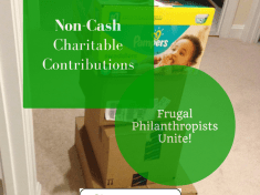 Non-Cash Charitable Contributions