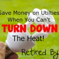 Save Money on Utilties