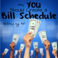 Why Should you Create a bIll Schedule?