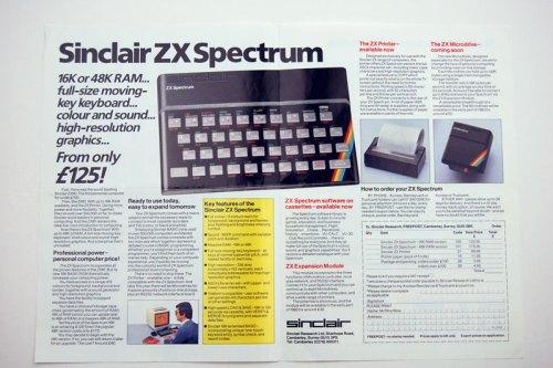 Inside the ZX Spectrum brochure