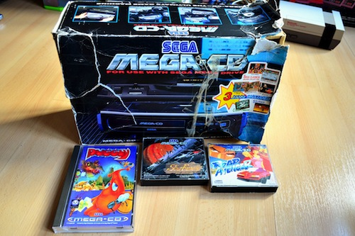 Mega CD box