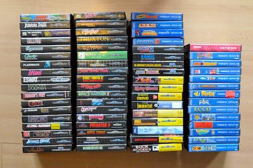 MegaDrive games 1