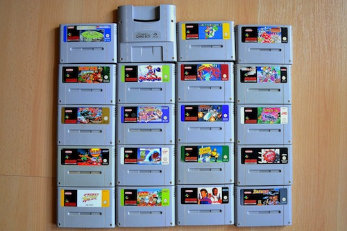 SNES games 2