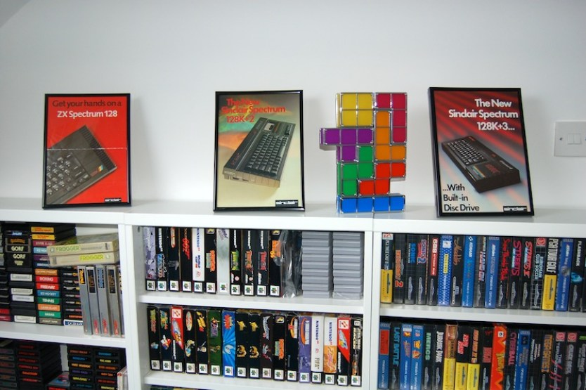 Flyers for my favourite machine of all – the Sinclair ZX Spectrum.