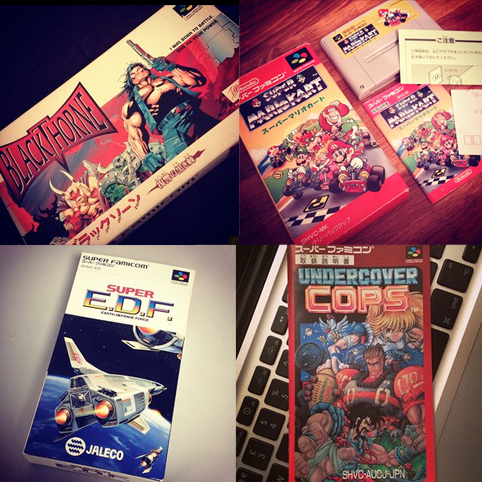 Blackthorne, Mario Kart, EDF Force, Undercover Cops