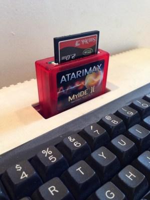 AtariMax MyIDE II with SD card