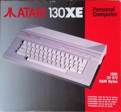 Atari 130 XE box