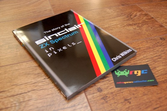 The cover, with its iconic 'Spectrum rainbow flash'