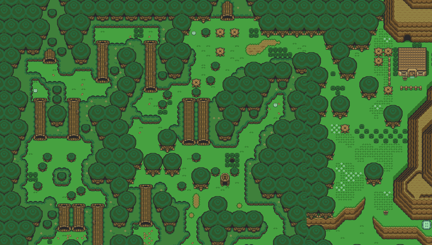 The legend of zelda a link to the past live map retro games collector ever fancied exploring a live map of the legend of zelda a link to the past from within your browser the guys over at jadsds engine have created links gumiabroncs Images