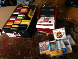 My Famicom collection