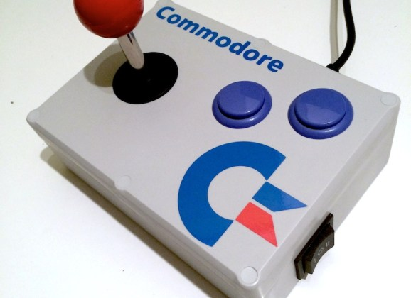 Build your own Commodore 64 arcade stick – a guide