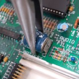Amiga 500 plus battery removal – how to
