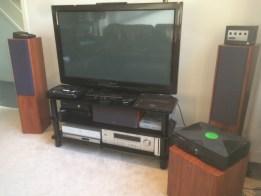 AV console setup