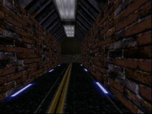 Egy kissé elnagyoltak a téglák ebben az alagútban.