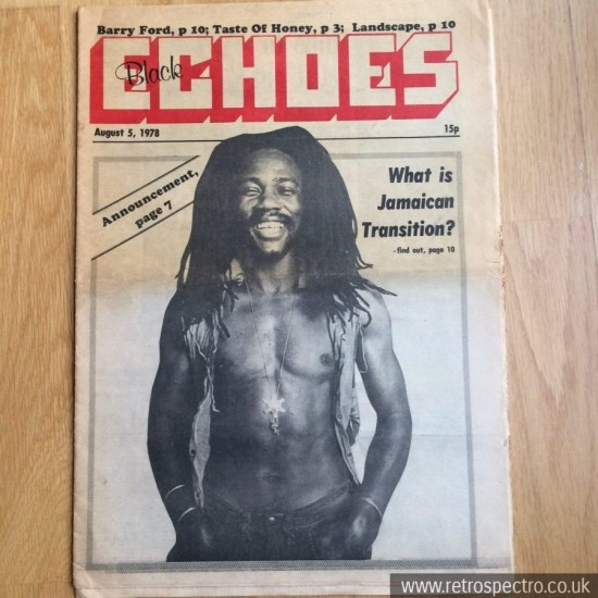 Black Echoes 5 August 1978