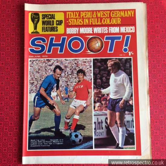 Shoot Football Magazine 1970