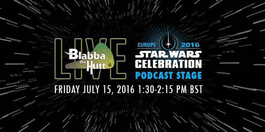 Blabba The Hutt LIVE at Star Wars Celebration Europe!