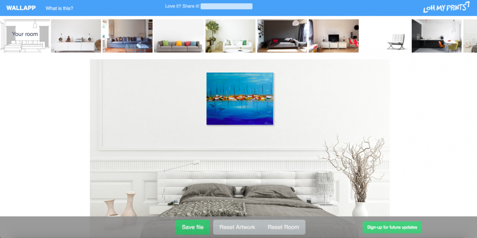 WallApp Review: Preview Paintings and Photos in Different Rooms
