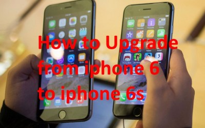How to transfer data from Iphone 6 to iphone 6s