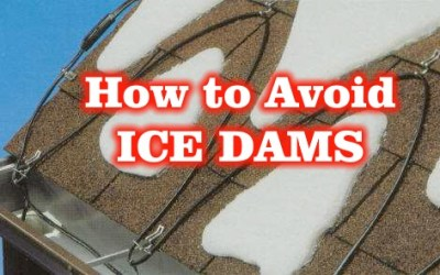 How to Avoid ICE DAMS!