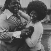 Barry White With A Dog