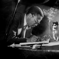 Music Legends With Cats: Thelonius Monk