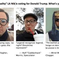 Local Voices: LA Nik To Support Trump