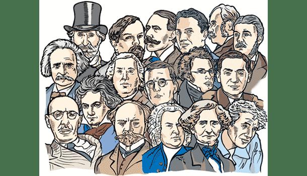 Obras de 150 compositores clássicos para download ou audição on-line