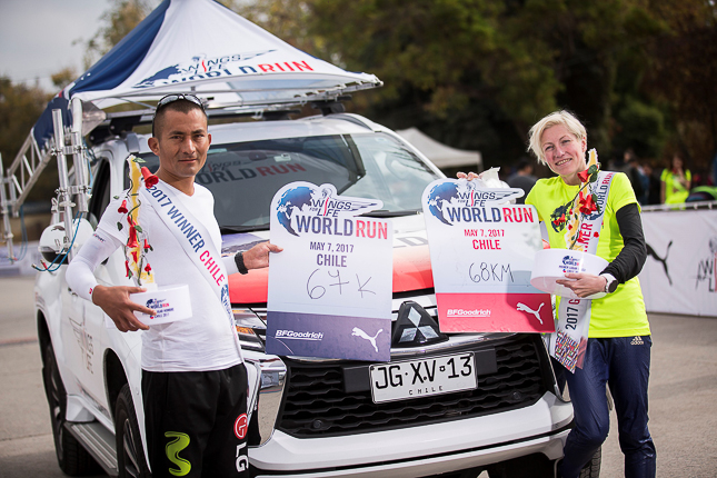 Wings For Life World Run Chile 2017